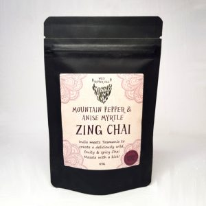 Zing chai Tasmanian pepper tea