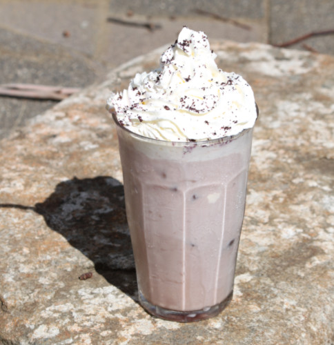 Tasmanian Pepperberry milkshake