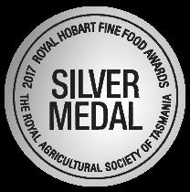 Royal Hobart Fine Food Awards silver