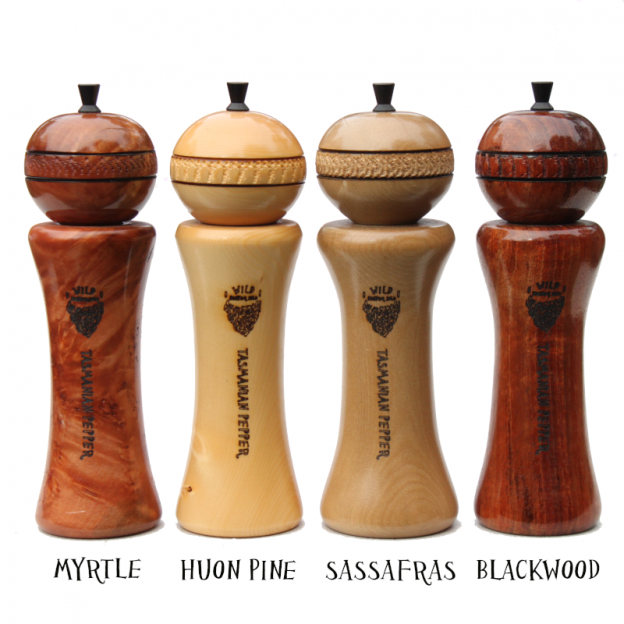 Tasmanian timber pepper mill